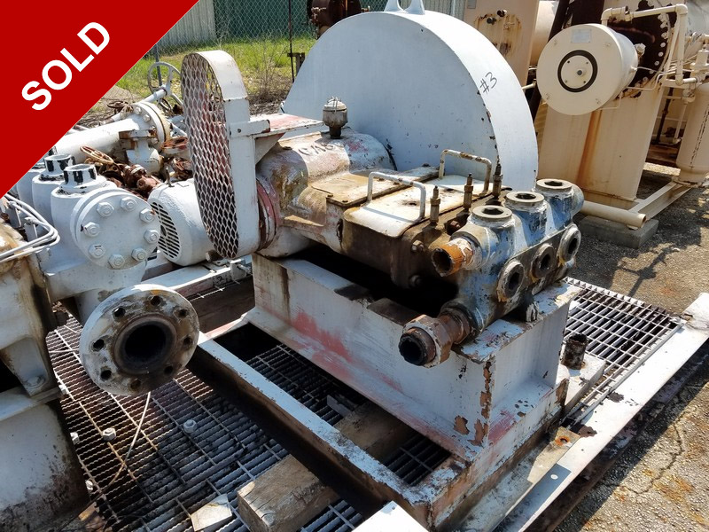oilfield, industrial, plunger pump, Odessa, Texas