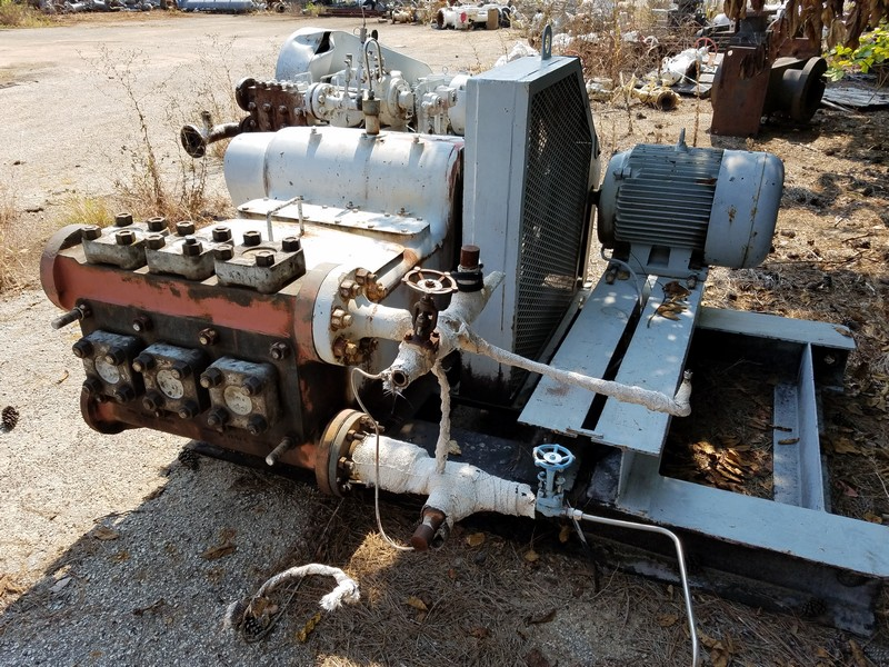 oilfield, triplex, plunger pump, Odessa, Texas